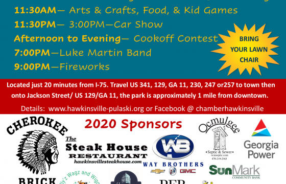 Hawkinsville – Pulaski County Chamber of Commerce – Come Home to